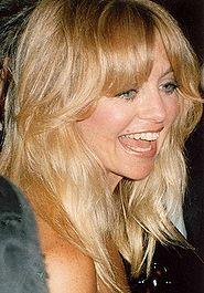 La pétillante actrice Goldie Hawn