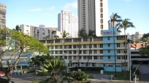 La YMCA de Honolulu n'a pas beaucoup changé depuis 1958.