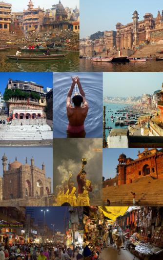 Varanasi_collage