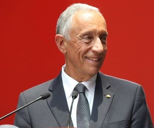 Le président du Portugal, Marcelo Rebelo De Sousa